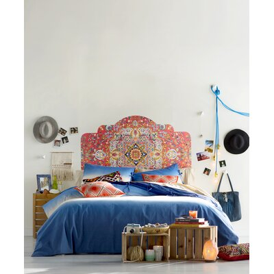 Cloyd Dip Dyed Duvet Cover Size: Twin, Color: Blue
