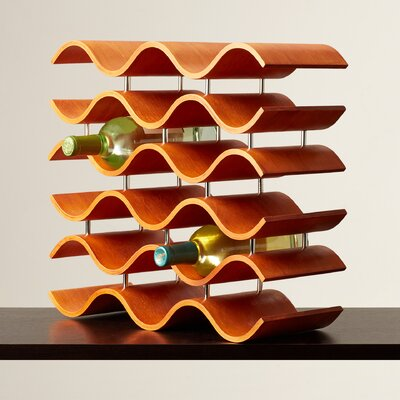 Wittmer 15 Bottle Tabletop Wine Rack