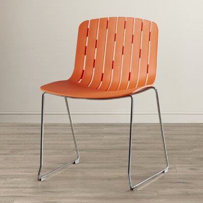 Cofer Side Chair Finish: Orange