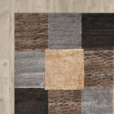 Ezekiel 3 Piece Gray/Cream Area Rug Set