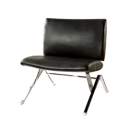 Kaylyn Side Chair Upholstery: Black