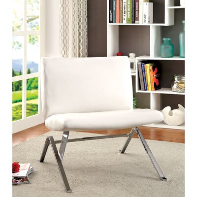 Kaylyn Side Chair Upholstery: White