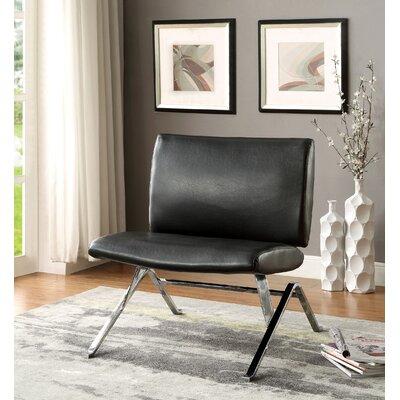 Kaylyn Side Chair Upholstery: Black