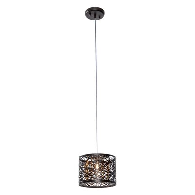 Livingston 1-Light Mini Pendant Finish: Bronze