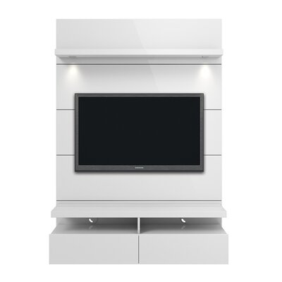Julius Entertainment Center Color: White Gloss