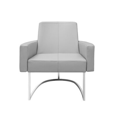 Ismael Leisure Arm Chair Upholstery: Taupe