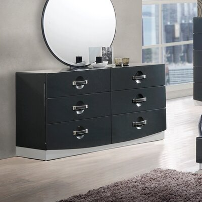 Parksley 6 Drawer Dresser