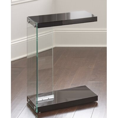 Eduardo End Table Color: Black