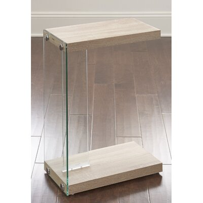 Eduardo End Table Finish: Light Oak