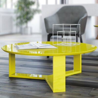 Emiliah Coffee Table Color: Yellow