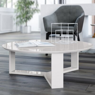 Emiliah Coffee Table Color: Off White