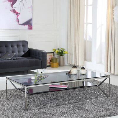 Clower Rectangle Coffee Table