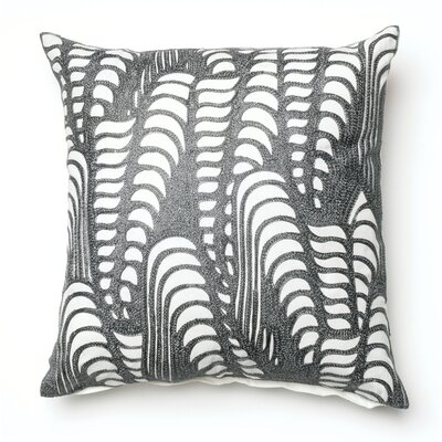 Pineda Throw Pillow Color: Grey