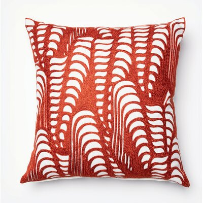 Pineda Throw Pillow Color: Red