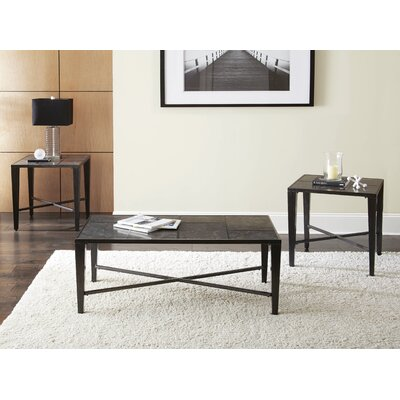 Booker 3 Piece Coffee Table Set