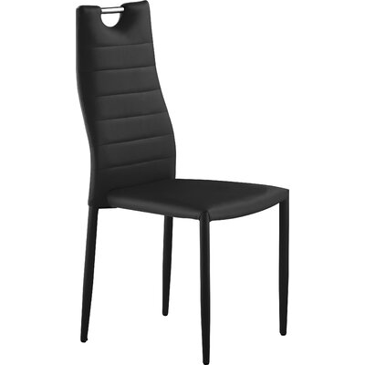 Villanueva Side Chair Finish: Black