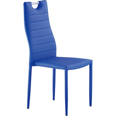 Ema Side Chair Finish: Blue
