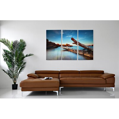 Auger Sectional Upholstery: Tan