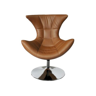 Campos Swivel Lounge Chair Upholstery: Tan