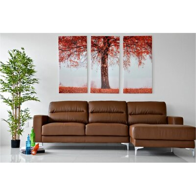 Bauch Sectional Upholstery: Tan