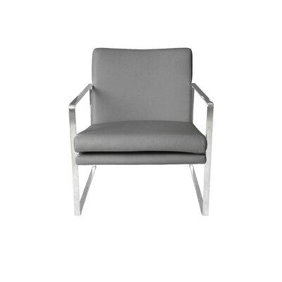 Lennox Armchair Upholstery: Gray