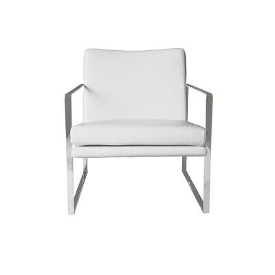 Lennox Armchair Upholstery: White