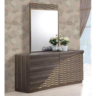 Carrara 6 Drawer Dresser