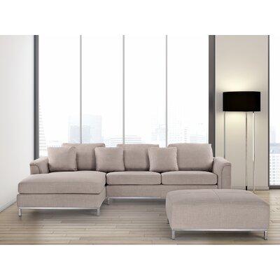 Catlett Sectional Upholstery: Beige