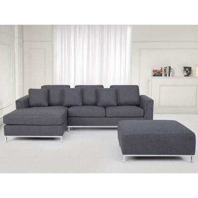 Catlett Sectional Upholstery: Gray