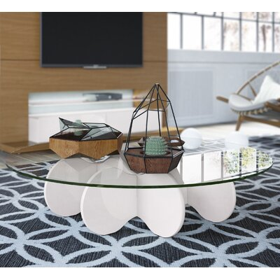 Mimico Coffee Table Finish: Off White