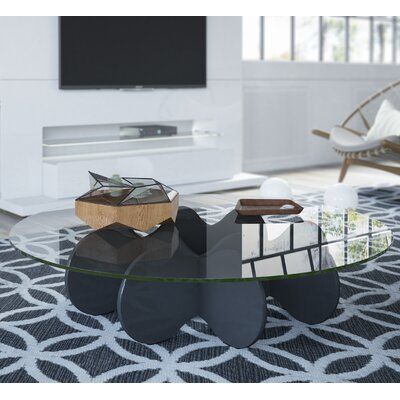 Mimico Coffee Table Color: Black Gloss