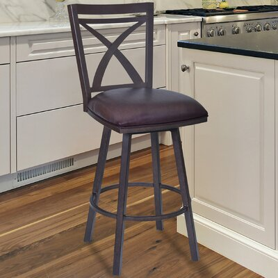 Bonnett Modern 26 Swivel Bar Stool