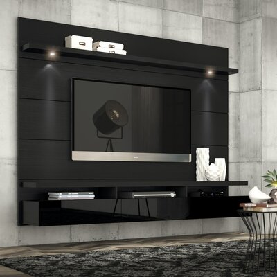 Julius Entertainment Center Color: Black