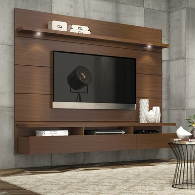 Julius Entertainment Center Color: Nut Brown