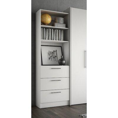 Lower Weston 3 Drawer Storage Unit Finish: White