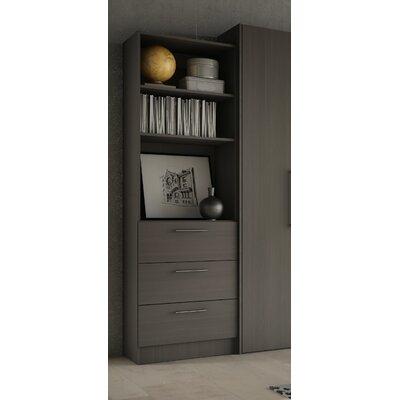 Lower Weston 3 Drawer Storage Unit Finish: Charcoal Grey