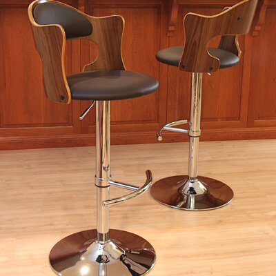 Marbury Adjustable Height Swivel Bar Stool