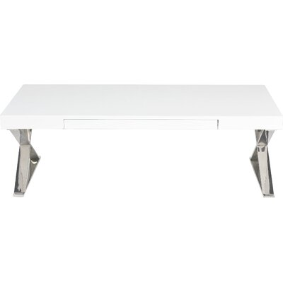 Roreti Coffee Table Color: White