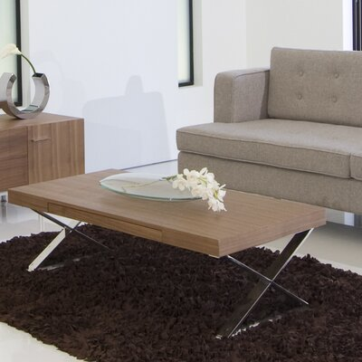 Roreti Coffee Table Finish: Walnut