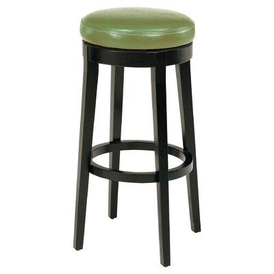 Bohnsack 26 Swivel Bar Stool Upholstery: Wasabi