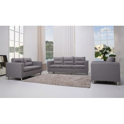 Clarence 4 Piece Living Room Set