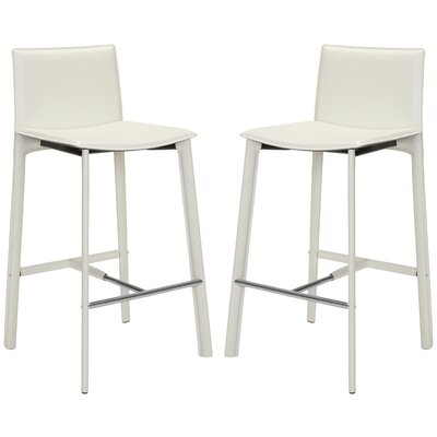 Carrillo 30 Bar Stool Finish: White