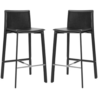 Carrillo 30 Bar Stool Finish: Black