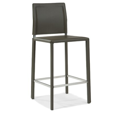 26 inch Bar Stool Finish: Grey