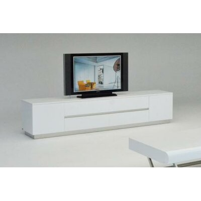 Ochoa TV Stand Finish: White