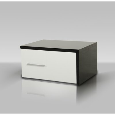 Colin 1 Drawer Nightstand Orientation: Right