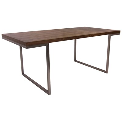 Charles Dining Table Finish: Walnut