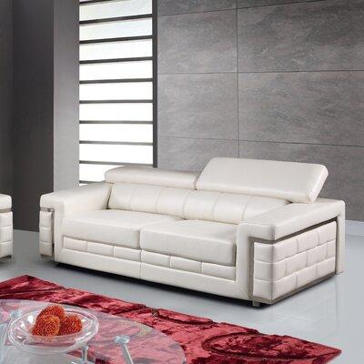 Stokes Sofa Upholstery: White