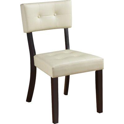 Sosa Side Chair (Set of 2) Color: Beige