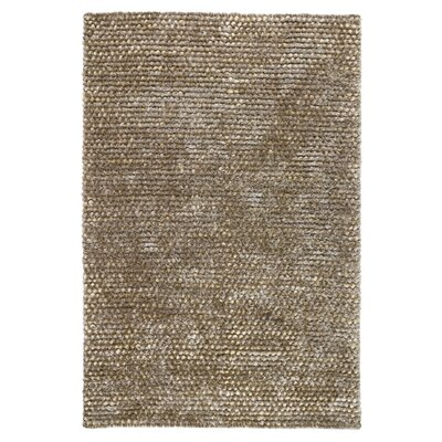 Revathi Hand-Woven Silver Area Rug Rug Size: 2 x 3